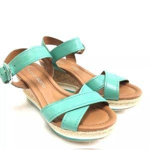 Franco Sarto Women's Platform Wedge Sandals